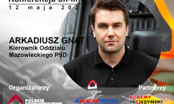 Konferencja on-line Polskiego Stowarzyszenia Dekarzy i projektu Zawód Przyszłości Dekarz